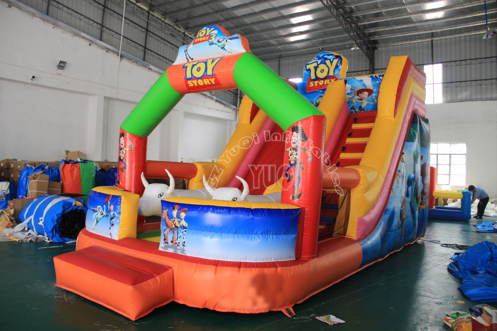 YUQI-Find Inflatable Slip And Slide Childrens Inflatable Water Slide