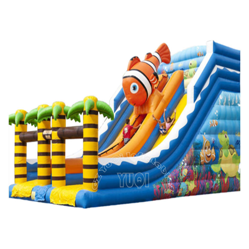 YQ333 New inflatable slide water park outground for Hot sale