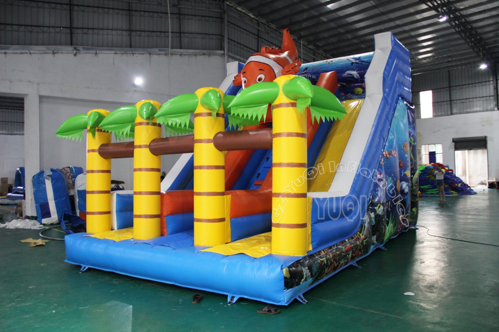 YUQI-Yq333 New Inflatable Water Slide Water Park Outground For Hot Sale