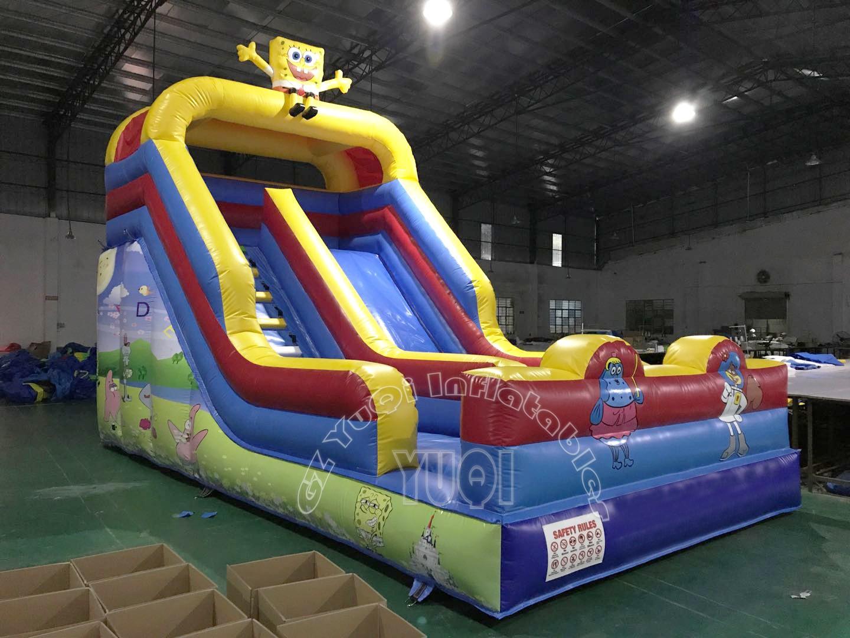 YUQI-Yq334 Hot Sale Big Slide Inflatable Water Slide