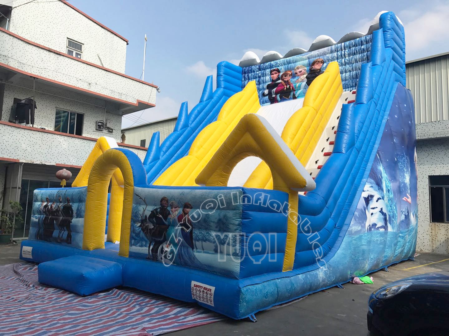 YUQI-Best Yq335 Giant Inflatable Water Slide For Kids And Adults
