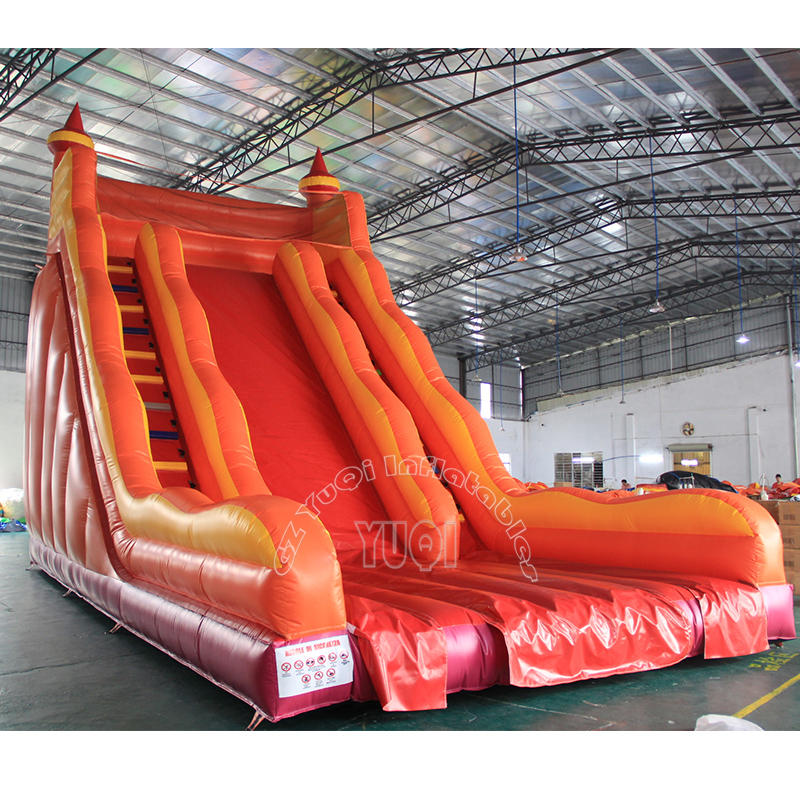 YQ336 Giant inflatable slides ,big adult toys inflatable children slide from yuqi