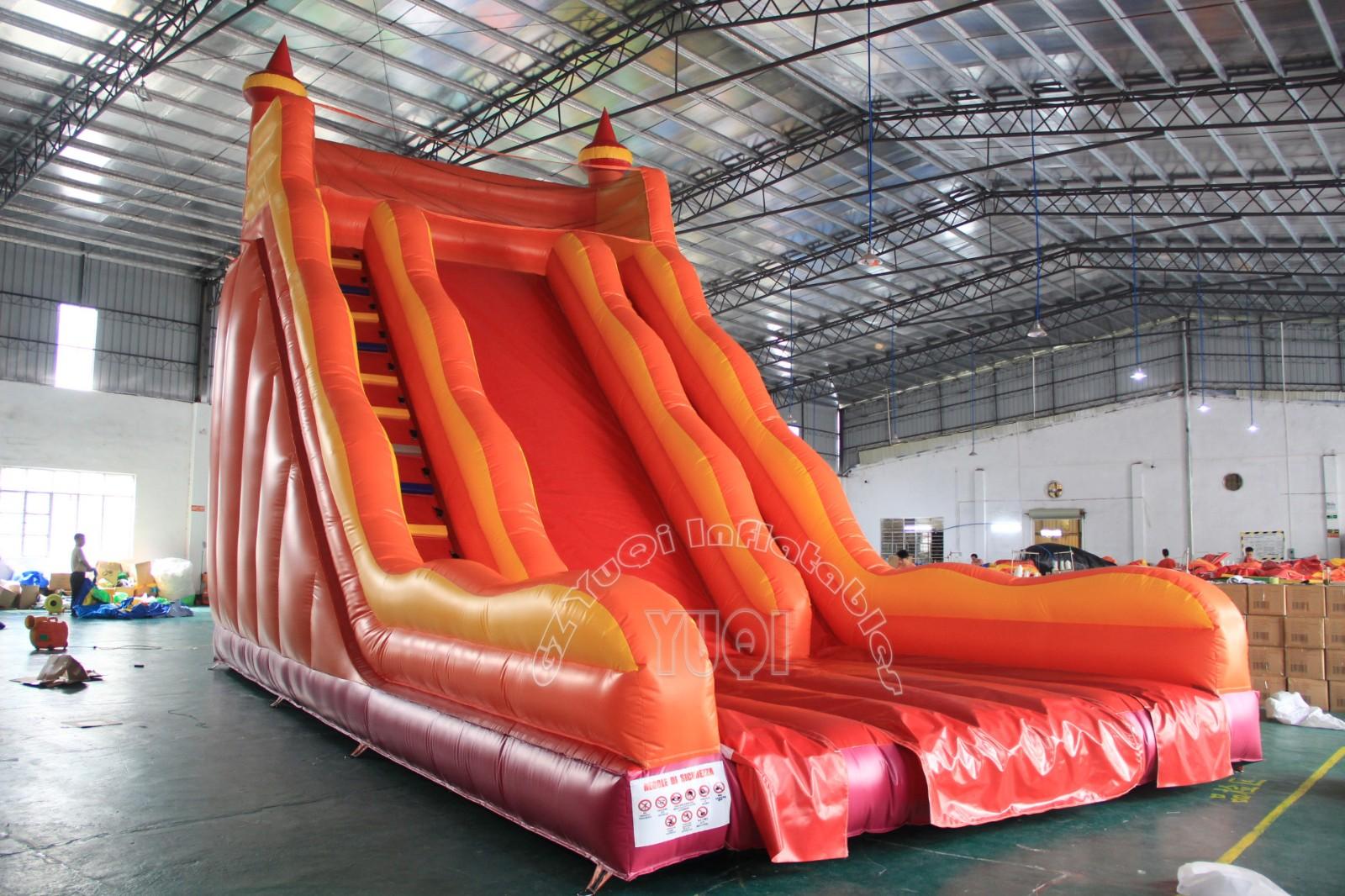 YUQI-Yq336 Giant Inflatable Slides ,big Adult Toys Inflatable Slip And Slide