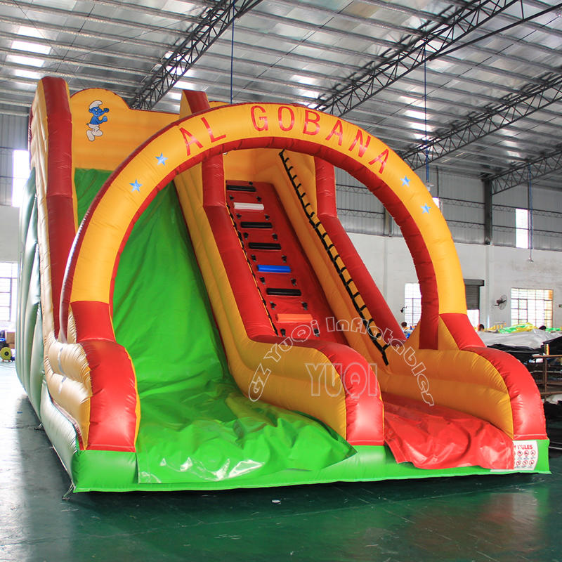 YQ337 Cheap Price Inflatable Kids Slides