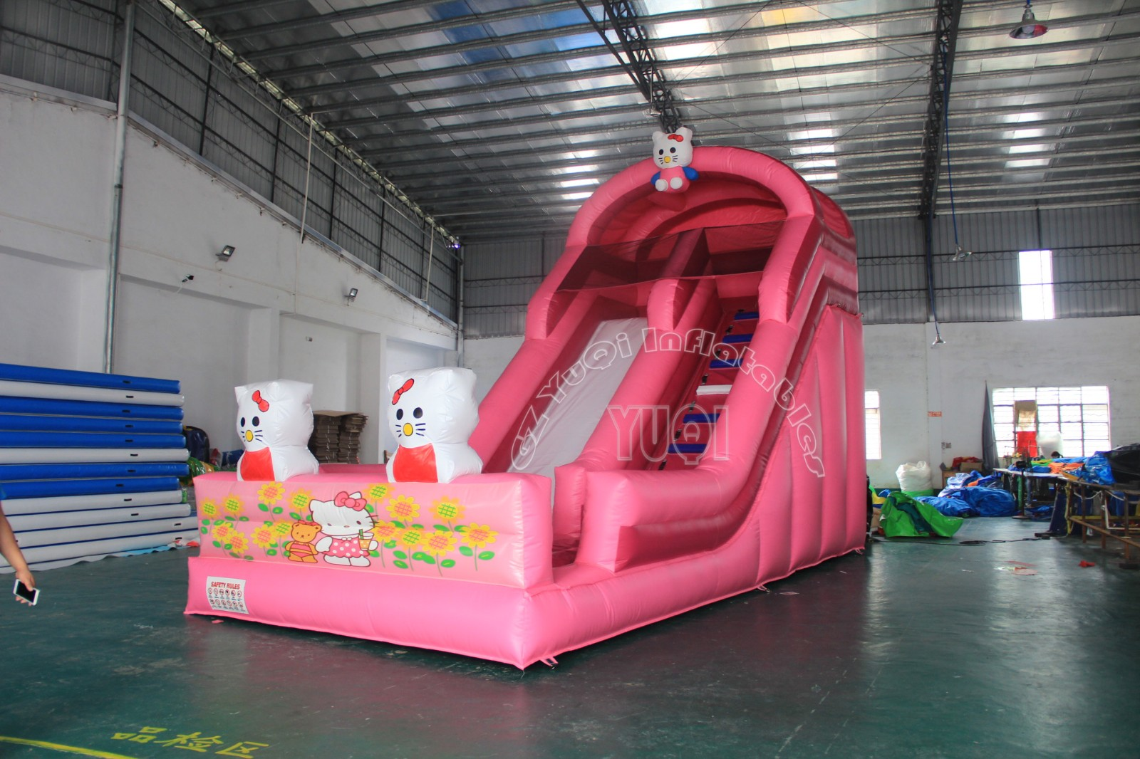 YUQI-Find Inflatable Water Slide Childrens Fun Amusement Park