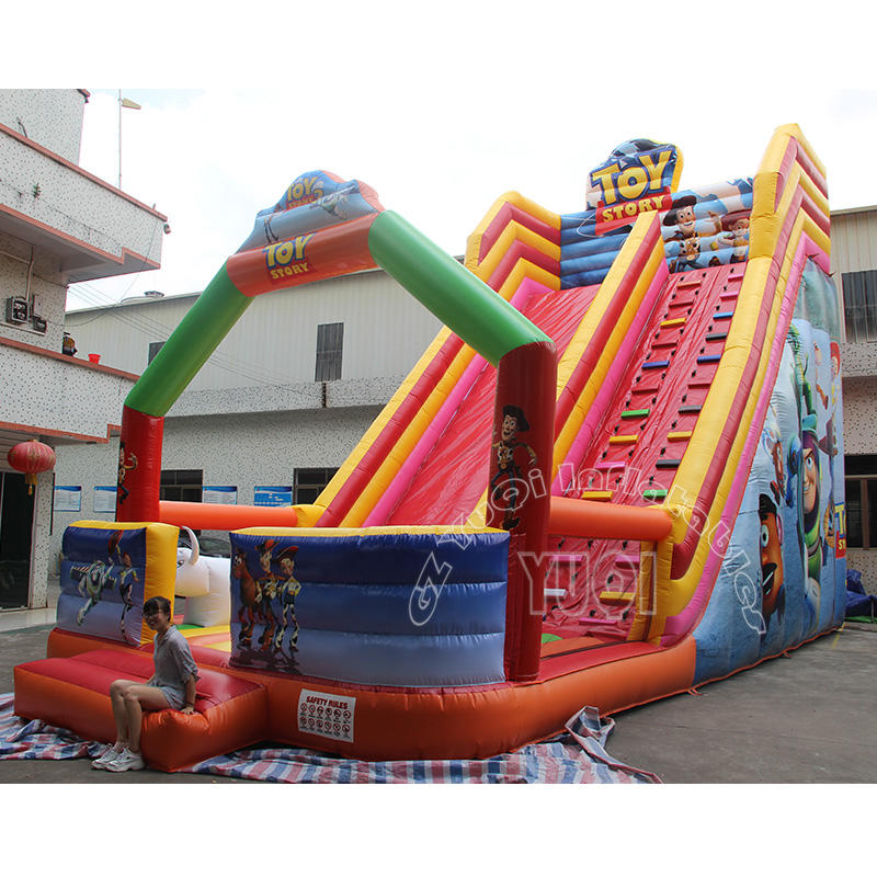 YQ345 hot sale inflatable slide giant adult inflatable slide for sale