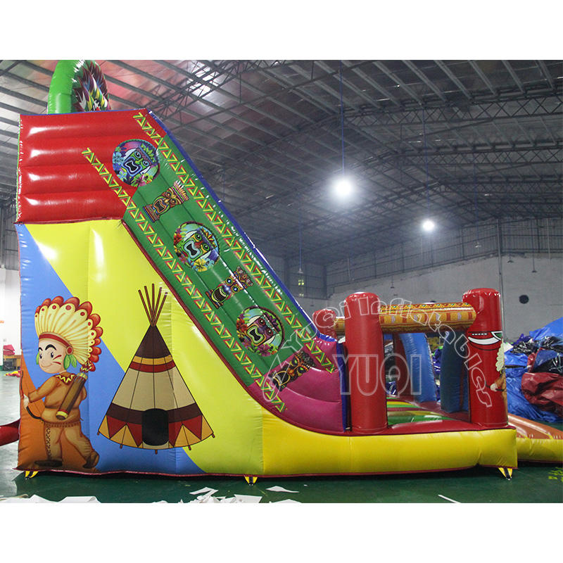 YQ346  New Inflatable Medieval Slide for sale