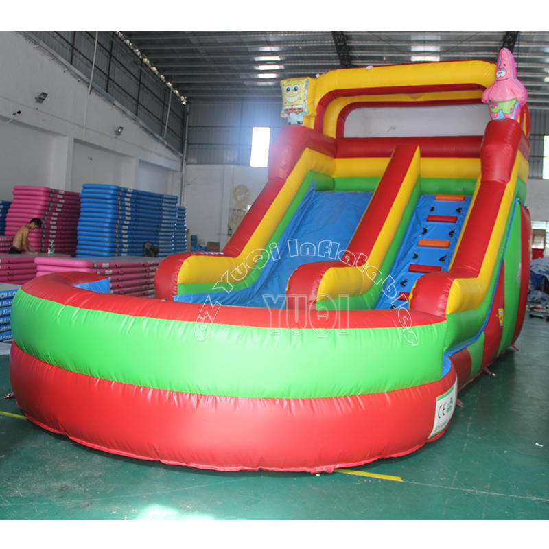 YQ347 Commercial Used Inflatable Water Slide For Sale