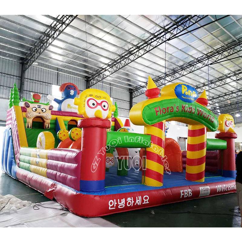 YQ613 Funny inflatable amusement park fun city for sale