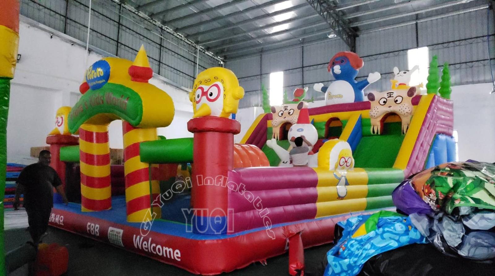 YUQI-Find Inflatable Theme Park Inflatable World Amusement Park