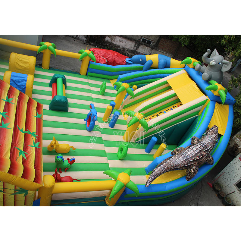 YQ615 Interesting Inflatable amusement park giant bouncer for kids