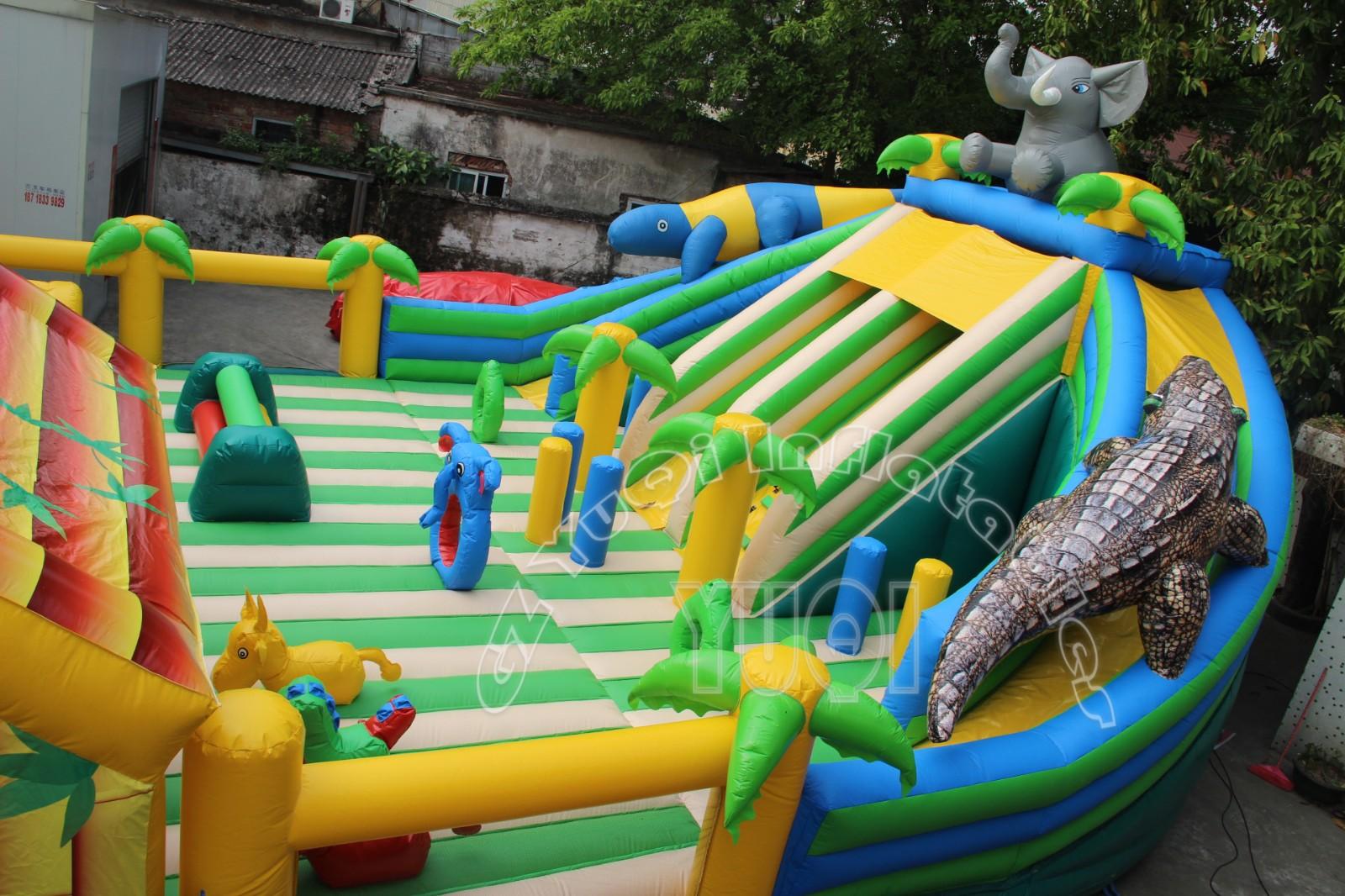 YUQI-Best Yq615 Giant Interesting Indoor Inflatable Amusement Park