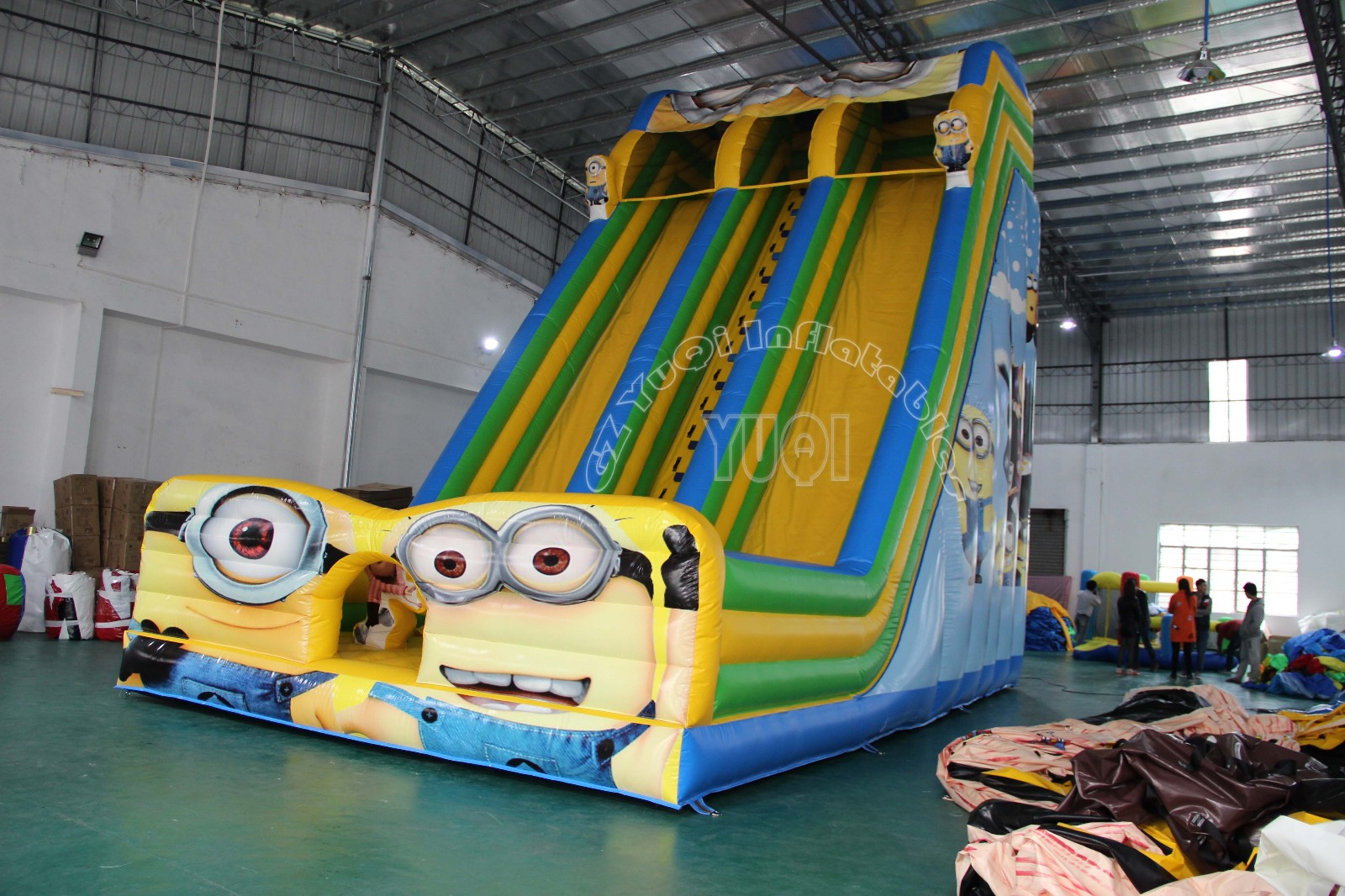 YUQI-Find Blow Up Slide water Park Inflatable Pool Slide