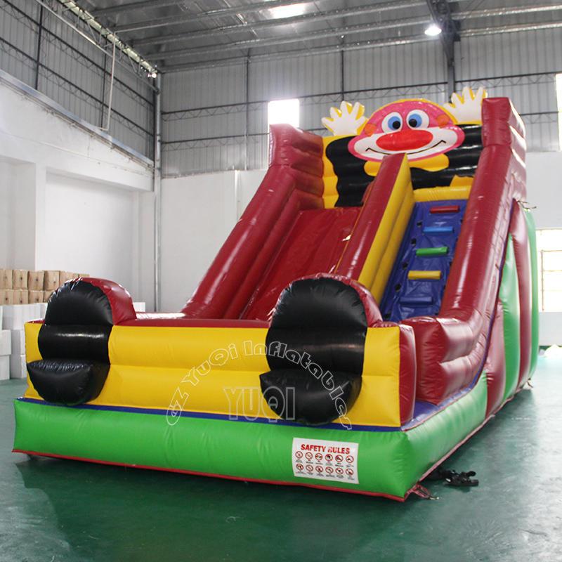 YQ353 Bounce House Slide Inflatable Clown for Children Slides