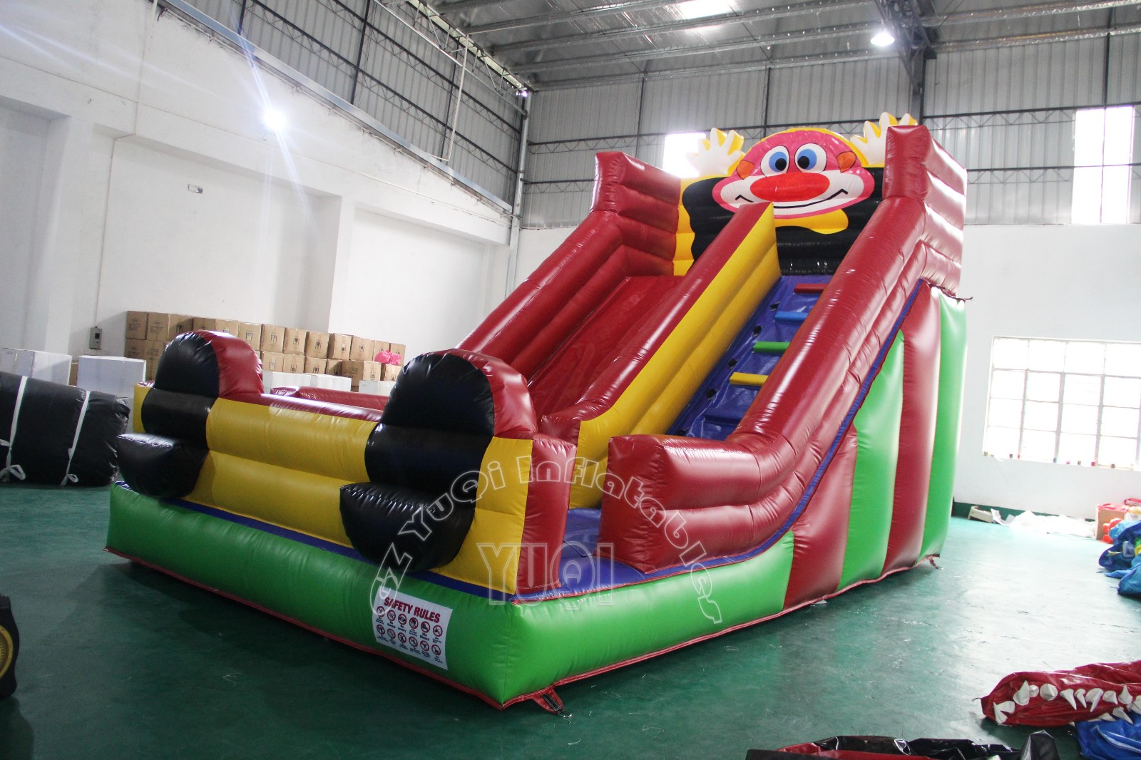 YUQI-Best Yq353 Blow Up Slide Inflatable Clown For Children