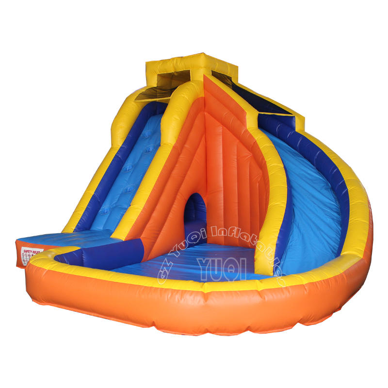 Outdoor Island Water Slide with Pool YQ355