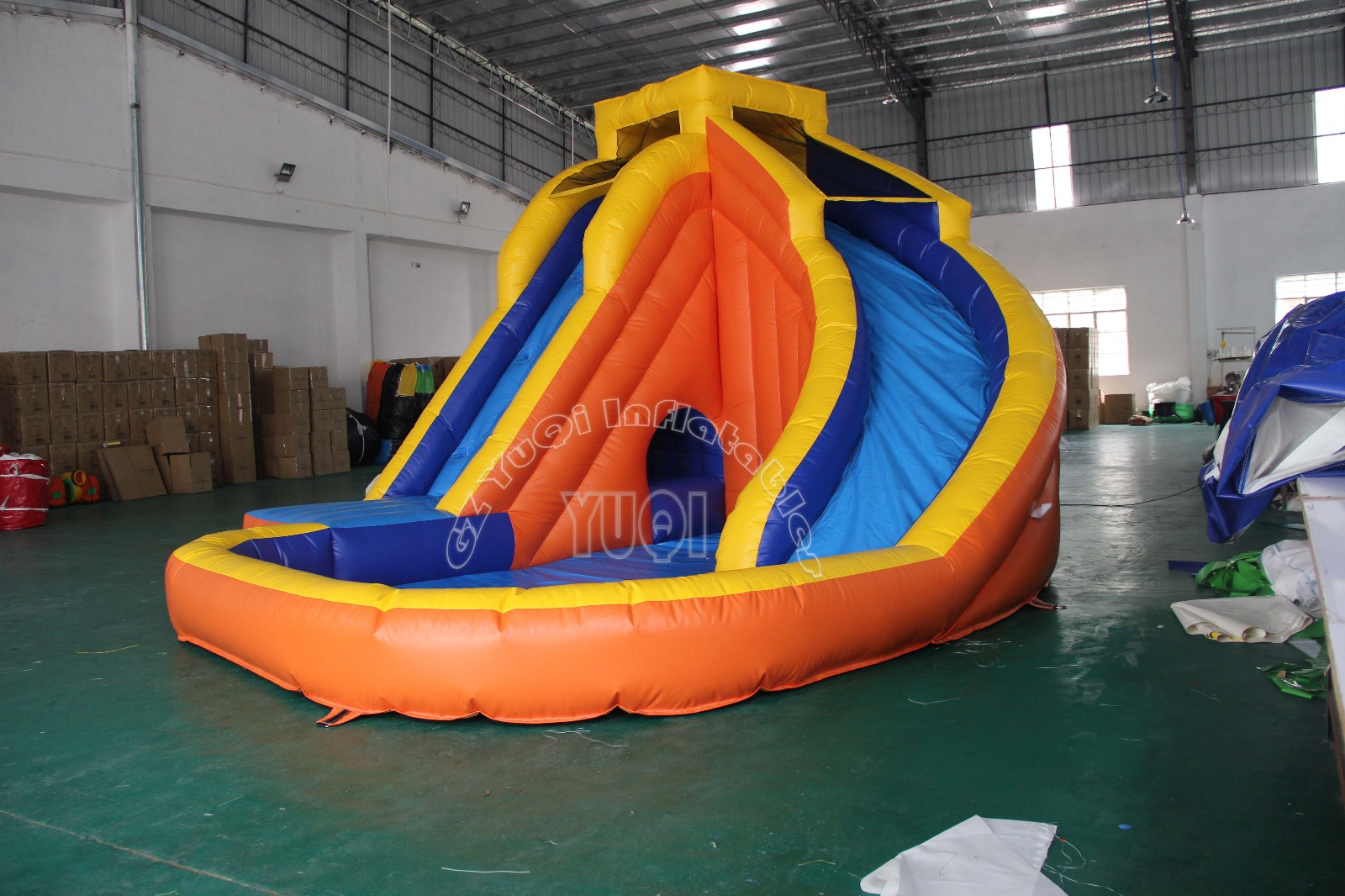 YUQI-Find Outdoor Inflatable Slip And Slide With Pool Yq355 | Manufacture