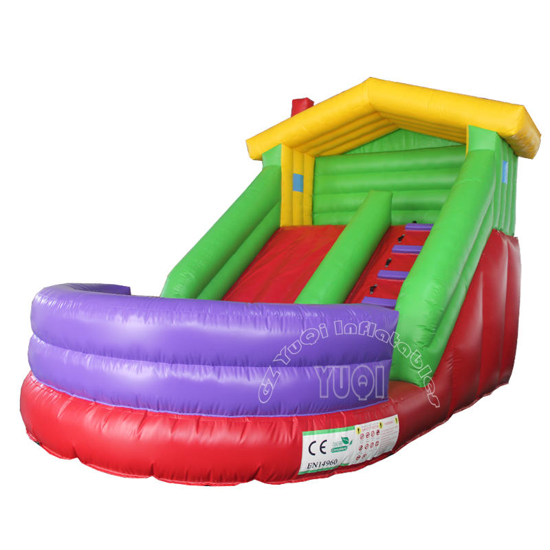 Kids play inflatable slide YQ356