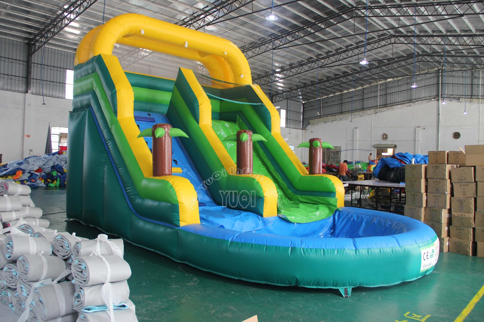YUQI-Best Inflatable Slip And Slide Yq357 Inflatable Water Slides