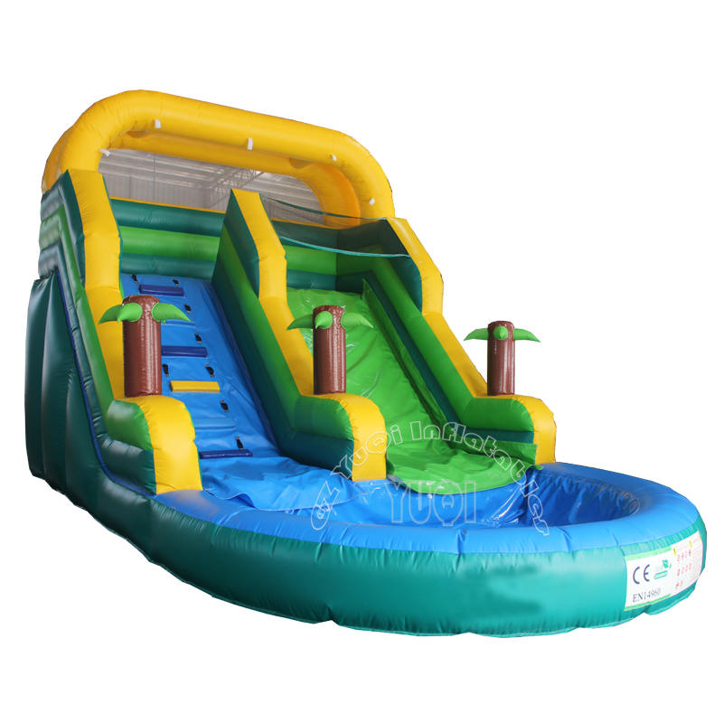 Best quality inflatable water slide YQ357