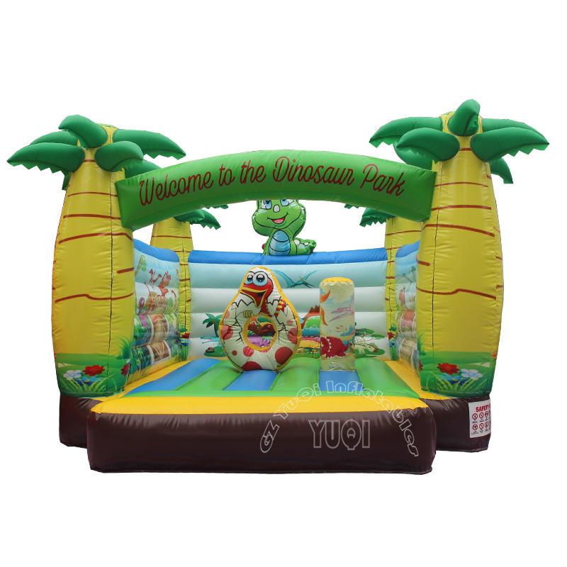 Animal world inflatable bouncer for kids play YQ580