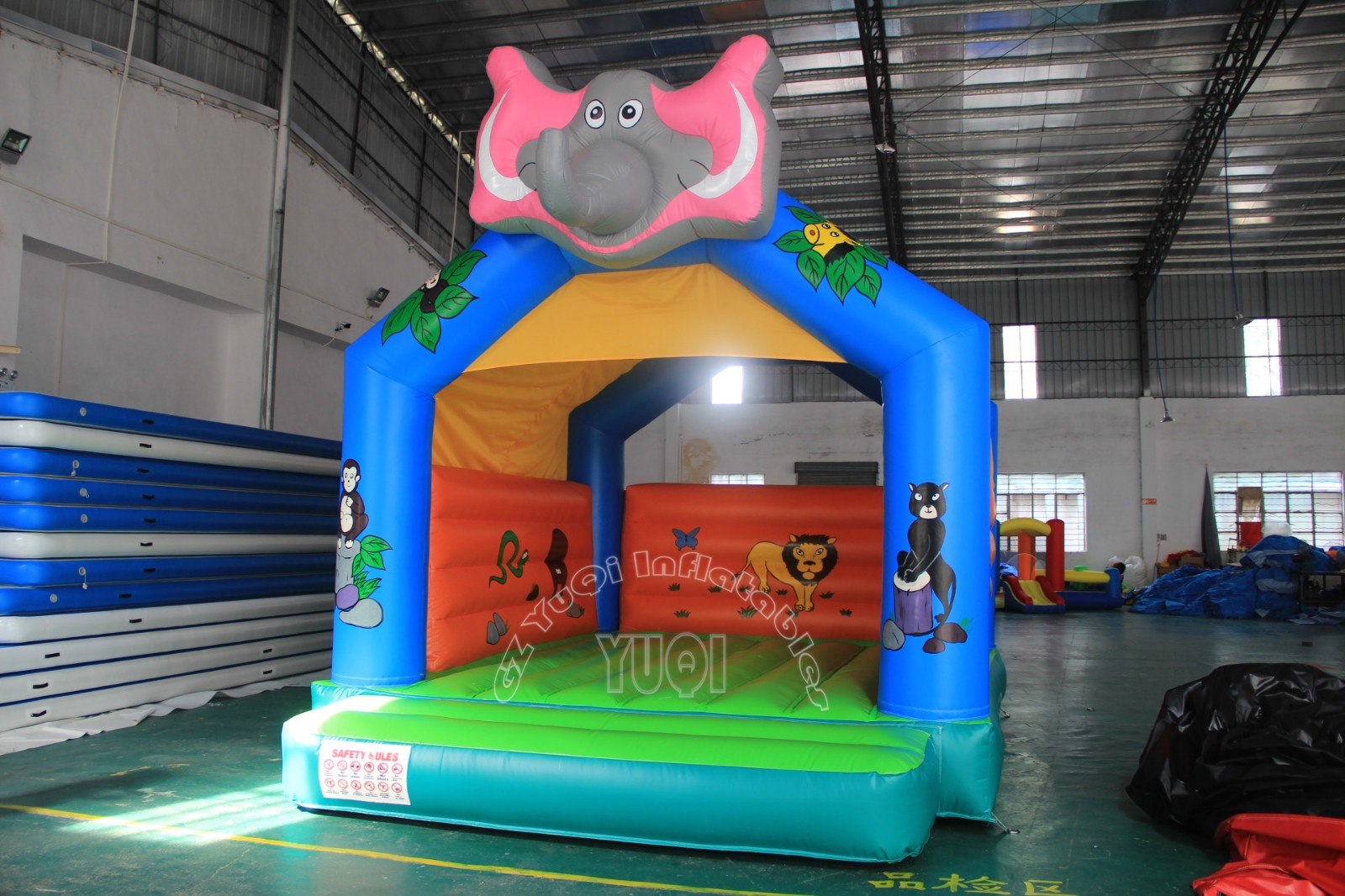 YUQI-Find Elephant Inflatable House Castle For Kids Yq581 | Manufacture