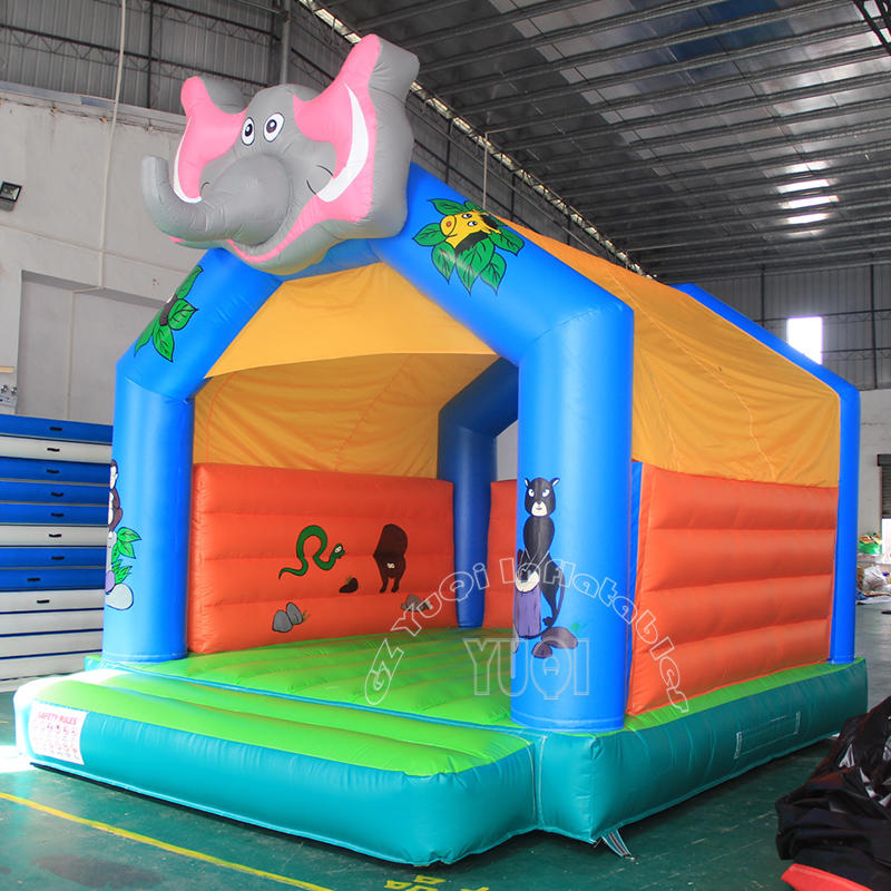 Elephant inflatable bouncy castle for kids YQ581
