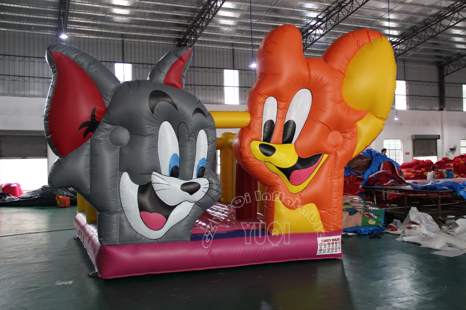 YUQI-Tomjerry Commercial Bounce House For Sale Yuqi Inflatables