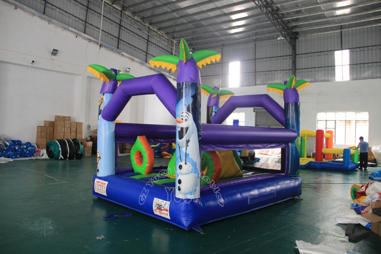 YUQI-Best Mini Bouncer Inflatable Bouncers Castle For Sale Yq583
