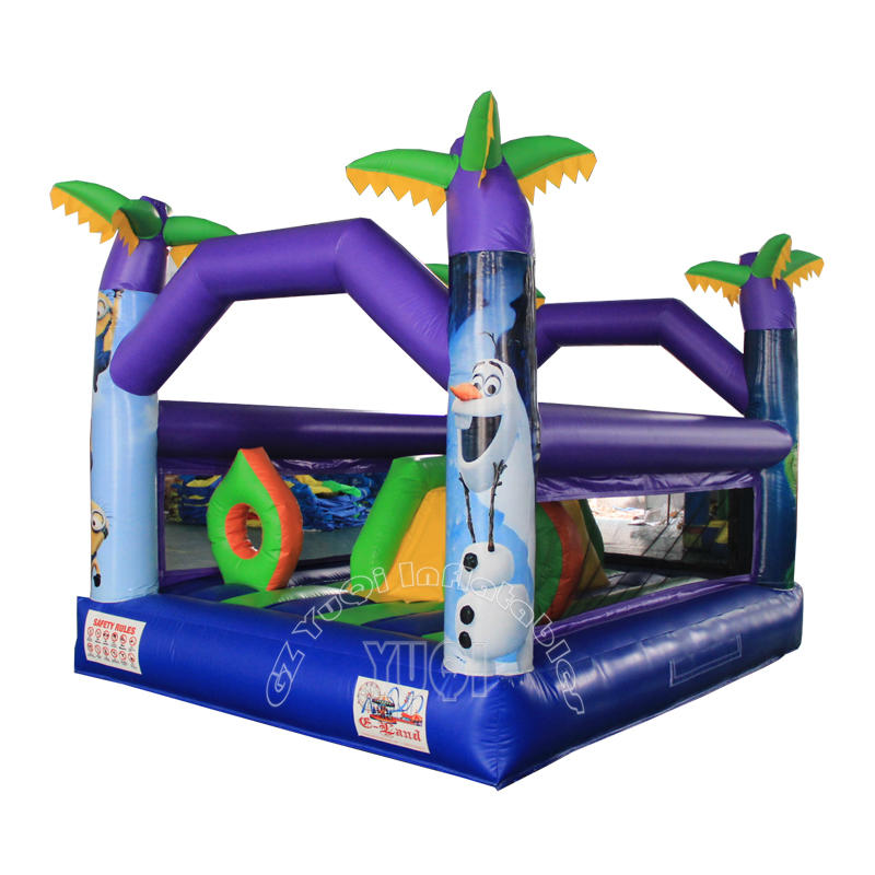 Mini bouncer inflatable bouncy castle for sale YQ583