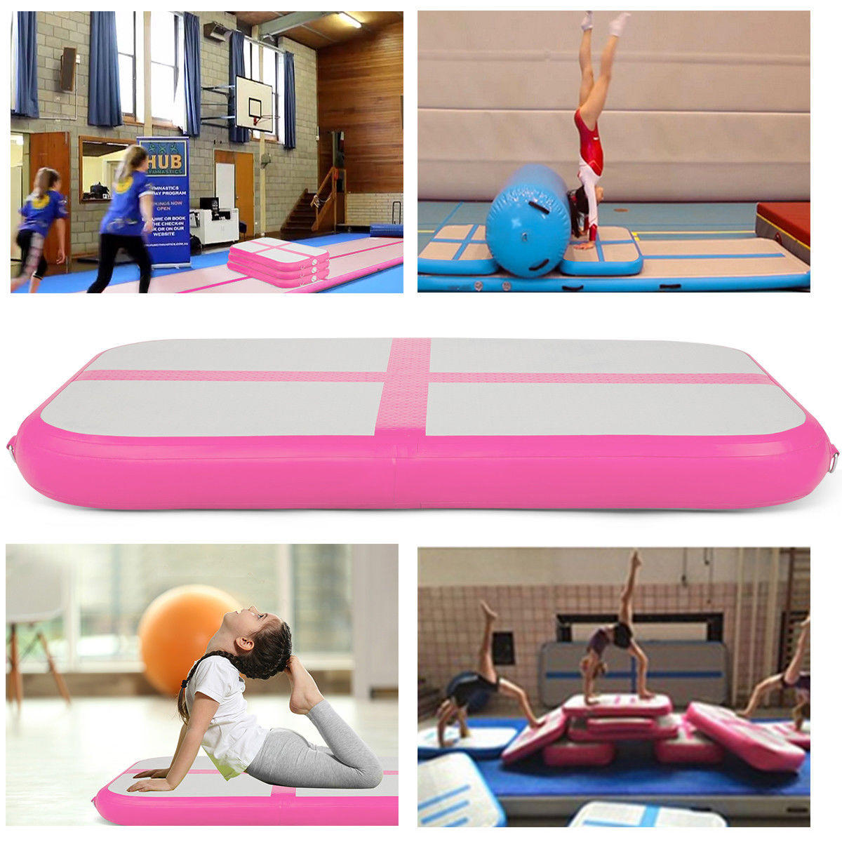 10ft/13ft/16ft/20ft Air Track Inflatable Gymnastics Tumbling Air Track Mat