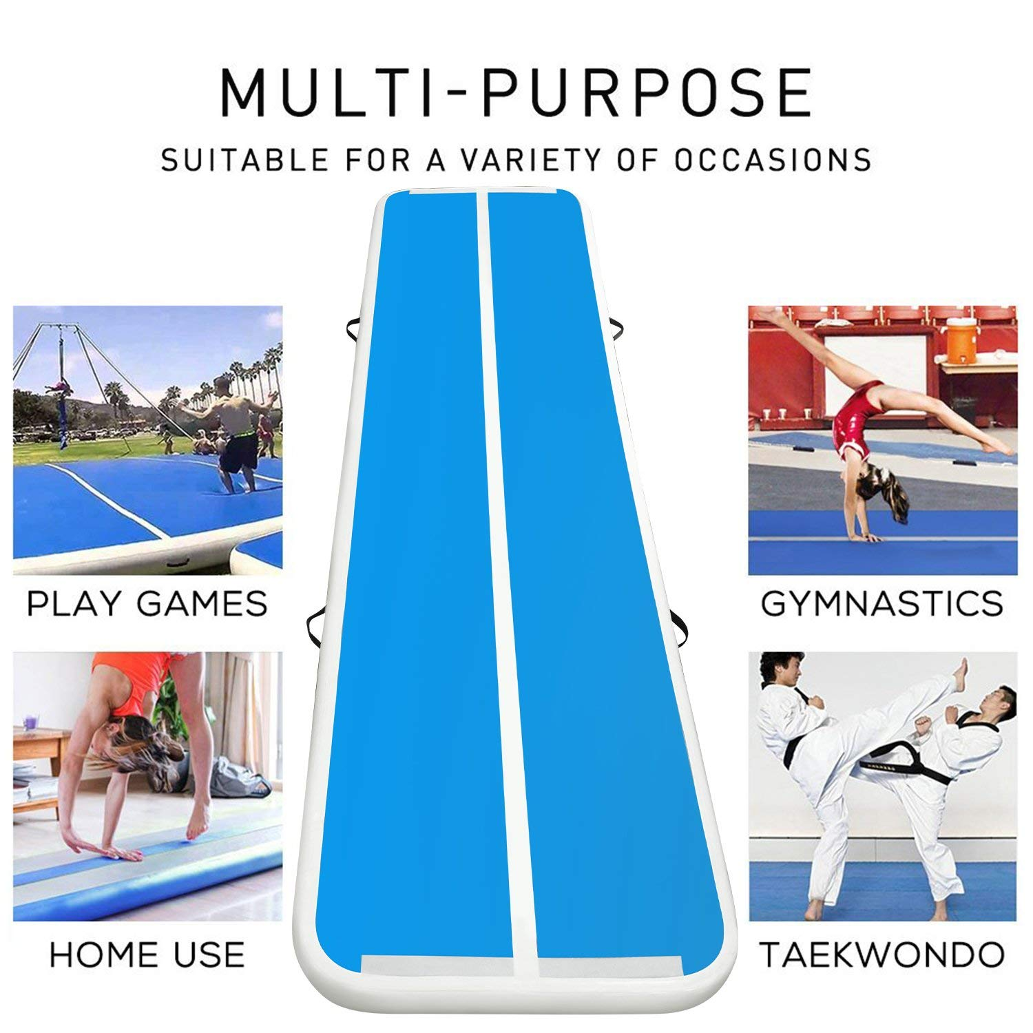 YUQI-High-quality Inflatable Air Track | Yuqi Gymnastic-2
