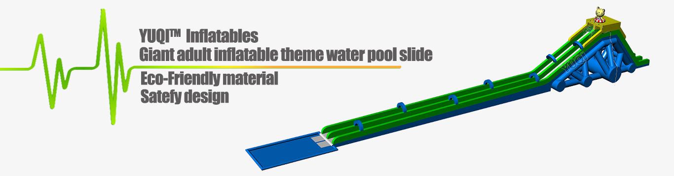 Giant inflatable water slide-YUQI