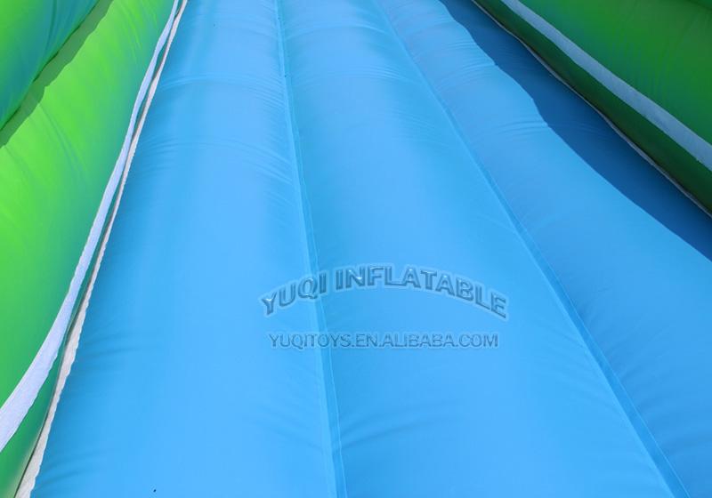 YUQI-Adult Giant Inflatable Triple Water Pool Slide Bouncing Slide-3