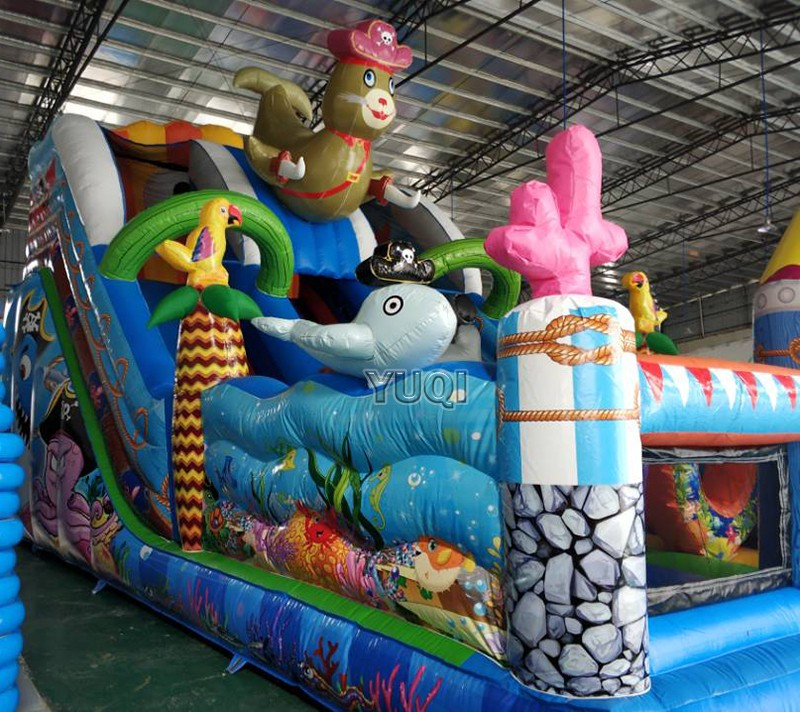 YUQI-Find Blow Up Slide Outdoor Inflatable Water Slide From Yuqi-1