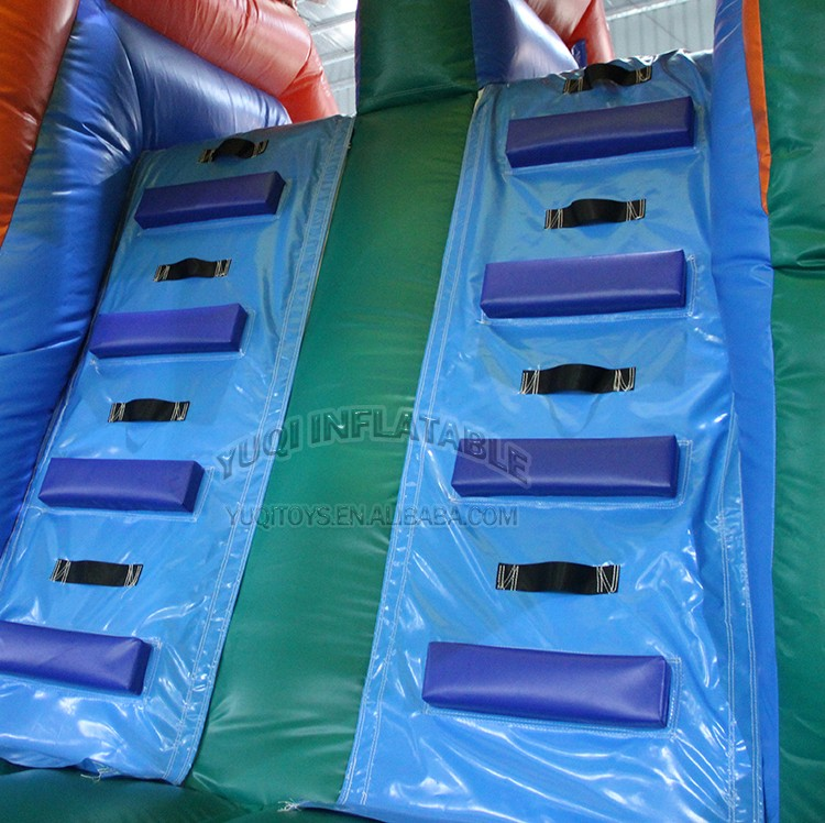 YUQI-Bounce House Slide Combo Co22 Forest Comb Inflatable Bouncing-1