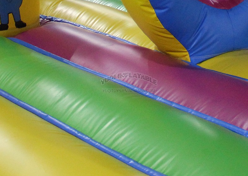 YUQI-Bounce House Slide Combo Co22 Forest Comb Inflatable Bouncing-4