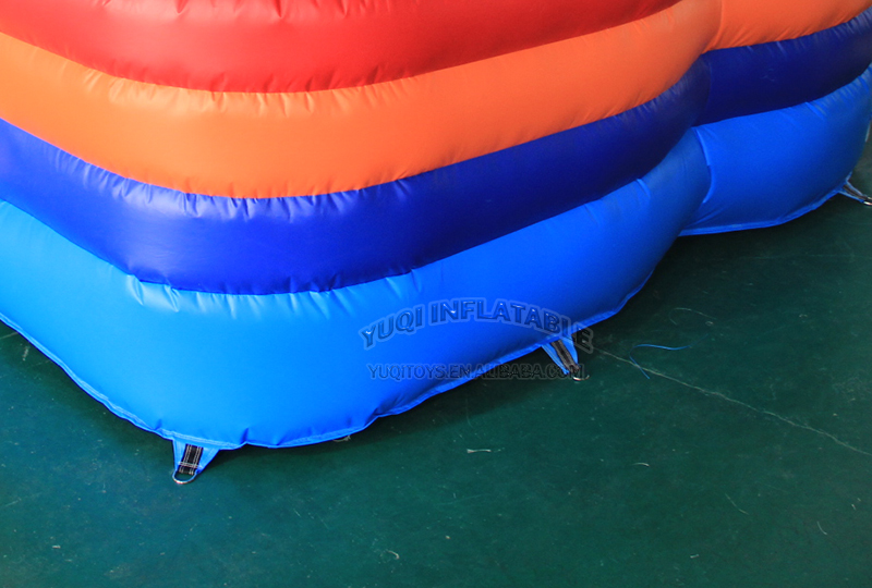 YUQI-Bounce House Slide Combo Co22 Forest Comb Inflatable Bouncing-11