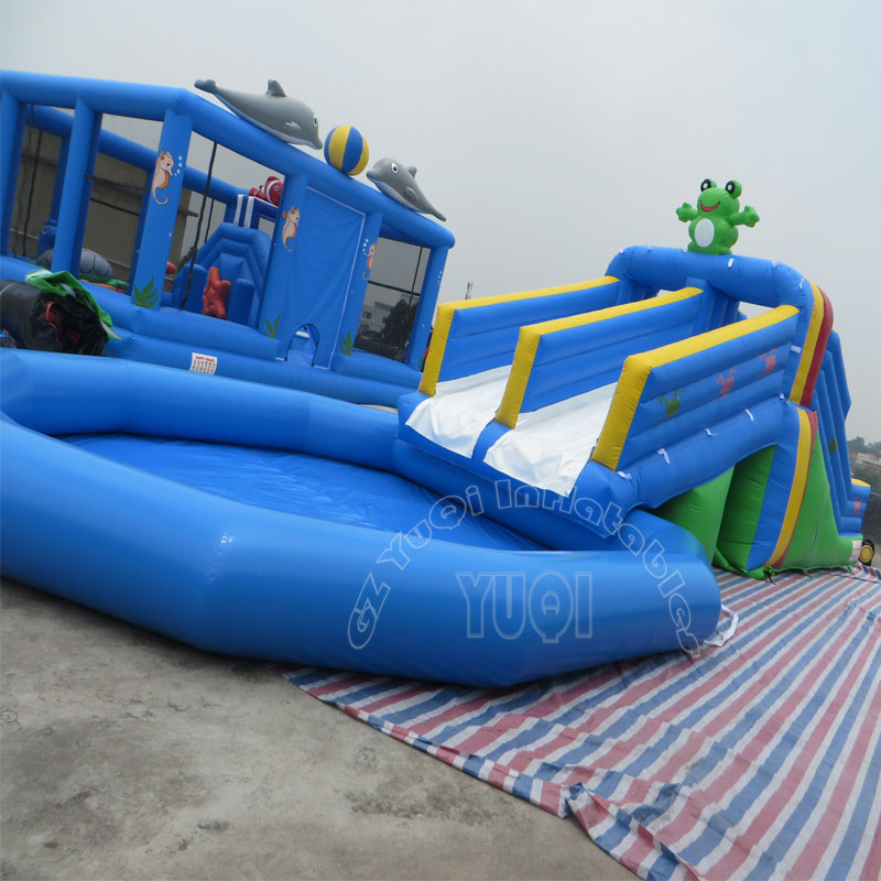 YUQI-Inflatable Water Fun Yuqi Amusement Park From Theme Inflatable