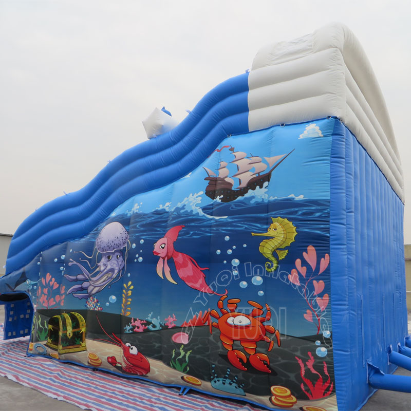 YUQI-Inflatable Water Park, Yuqi Amusement Park Seaworld Inflatable-1