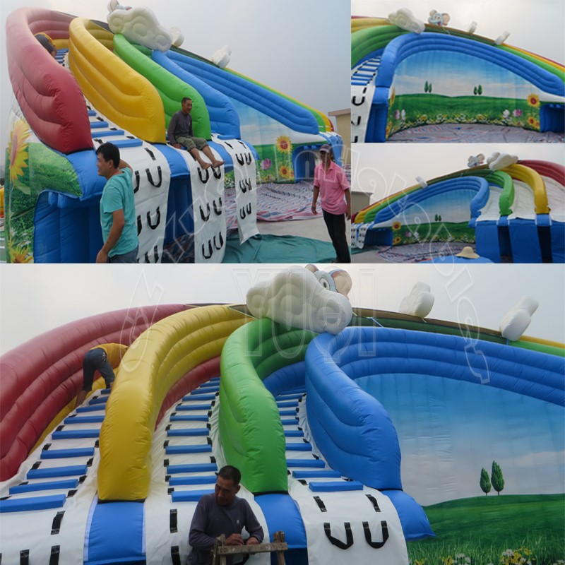 YUQI-Professional Inflatable Water Fun Inflatable Water Park | Supplier