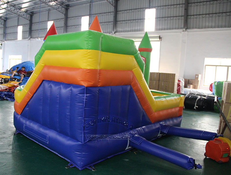 YUQI-YUQI CE Certificate Backyard Play Inflatable Moonwalk-1