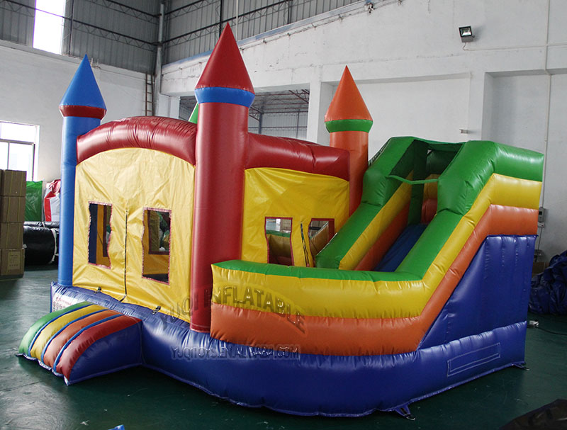 YUQI-YUQI CE Certificate Backyard Play Inflatable Moonwalk-14