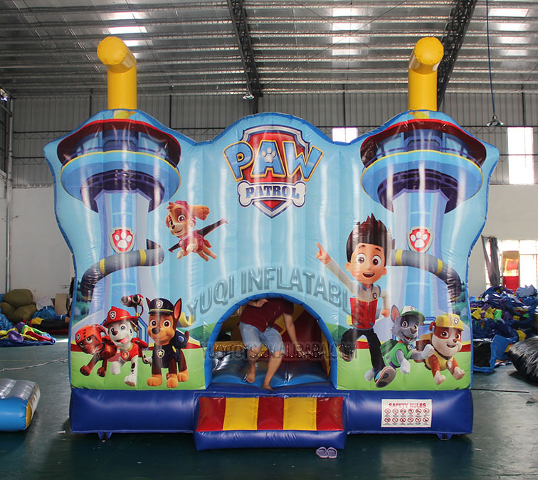 YUQI-Best Inflatable Bounce House Water Slide Combo | Yuqi-1