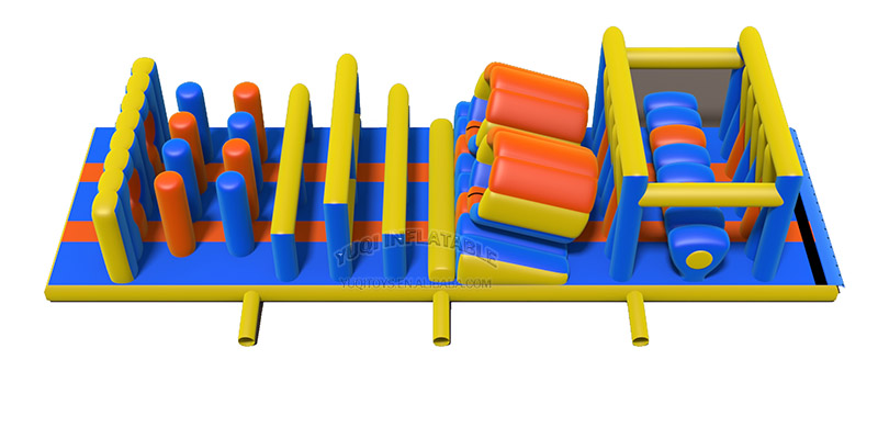 YUQI-Outdoor Inflatable Adventure Obstacle Course With Certificates | yuqi-1