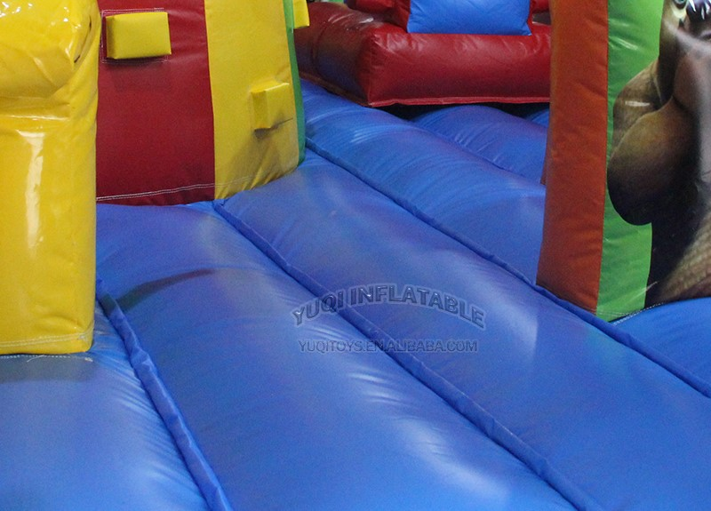 YUQI-Amusement park combo inflatable forest adventure challenge course-3
