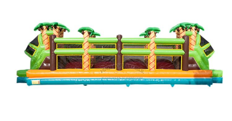 YUQI-Amusement park combo inflatable forest adventure challenge course