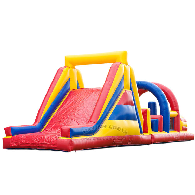 Inflatable kids arch obstacle course
