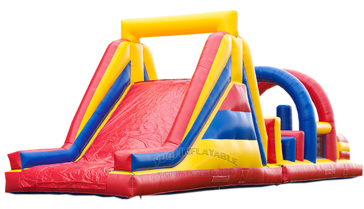 YUQI-Inflatable Air Track Manufacture | Inflatable Kids Arch Obstacle Course-2