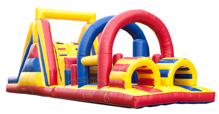 YUQI-Inflatable Air Track Manufacture | Inflatable Kids Arch Obstacle Course